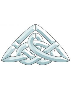 "Celtic Knot Bevel Cluster, 8-1/8"" x 13-3/4"""