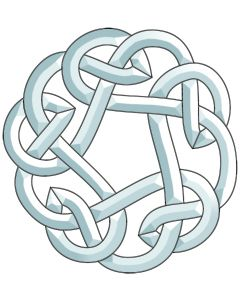 "Celtic Knot Bevel Cluster, 11-3/8"" x 10-7/8"""