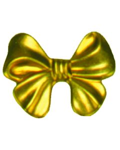 Small Bow Brass Accessories, pack/12