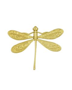 Dragonfly Brass Accessories, pack/6