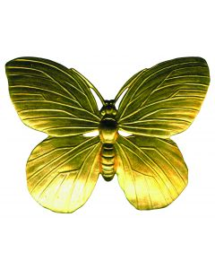 Large Butterfly Brass Accessories, pack/12