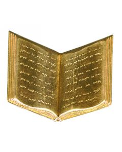 Prayer Book Brass Accessories, pack/12