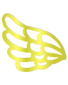 "Mini Angel Wing Filigree, 1-1/2"" x 1-1/8"""