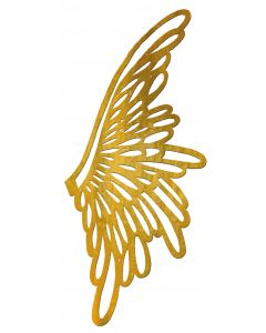 "Medium/Large Angel Wing Filigree, 5-5/8"" x 2-1/2"""