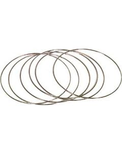"Round Wire Frames, 8"", pack/6"