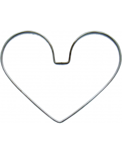 "Heart Wire Frames, 8"" x 6"", pack/6"