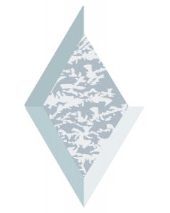 "Glue Chip Diamond Bevel, 3"" x 5"""