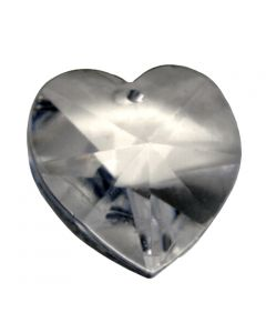 Heart Austrian Crystal, 18mm