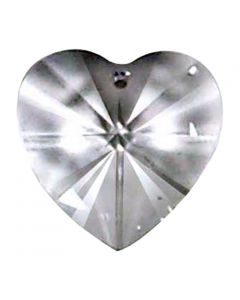 Heart Austrian Crystal, 28mm