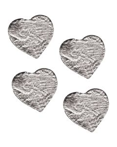 Heart Hand Cast Sculpture, pack/4
