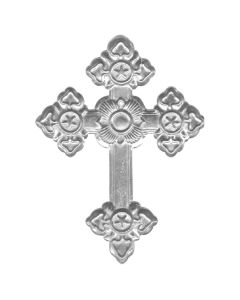 Ornate Cross Hand Cast Sculpture