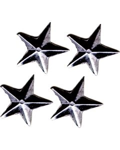 Small Star Hand Cast Sculpture, pack/4
