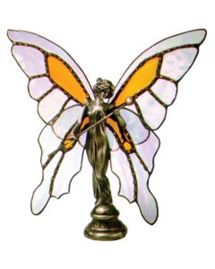 Butterfly Queen Monster Metals Hand Cast Sculpture, finished example
