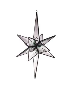 3-D Closed Star Favorite Christmas Bevel Cluster