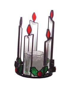Candle Holder Favorite Christmas Bevel Cluster