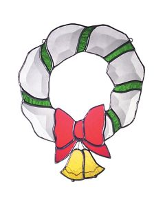 Large Wreath Favorite Christmas Bevel Cluster