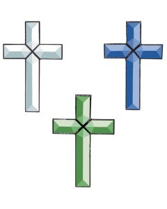 "Cross of Distinction Bevel Cluster, 4"" x 6"""