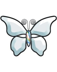 """Butterfly Bevel Cluster, 7-1/2"""" x 5-1/4"""""""