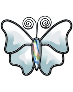 """Butterfly Bevel Cluster, 3-1/2"""" x 4"""""""