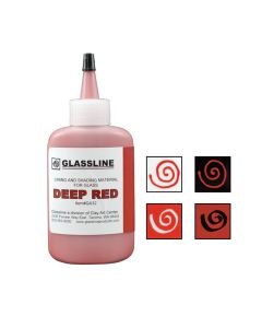 Deep Red Glassline Pen