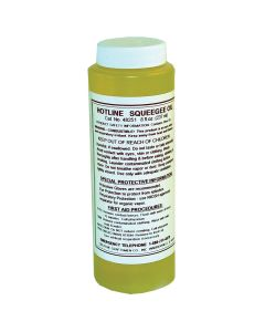 Squeegee Oil, 8 oz.
