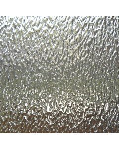 Wissmach Clear Granite Glass, closeup