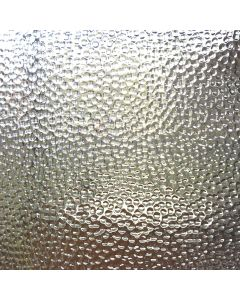 Wissmach Clear Hammered Glass, closeup