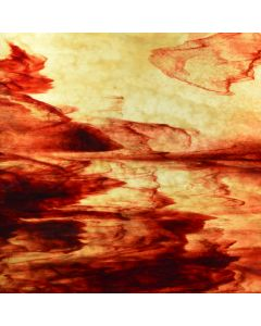 Youghiogheny Ice Beige, Dense Beige, Copper Red Stipple Glass