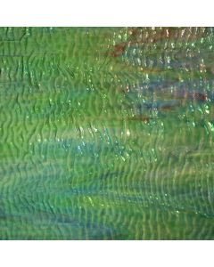 Youghiogheny Blue, Green, Pink Stipple Glass