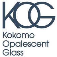 Kokomo Opalescent Glass.